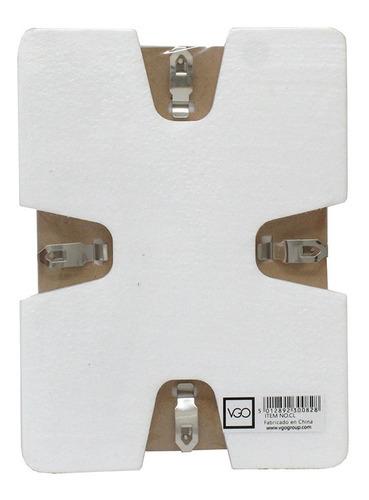 portarretrato clip 24x30  de vidrio, sin marco mg/vgo