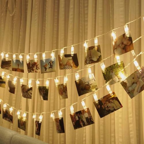 portarretrato decorativo con luz led, decoración fiesta