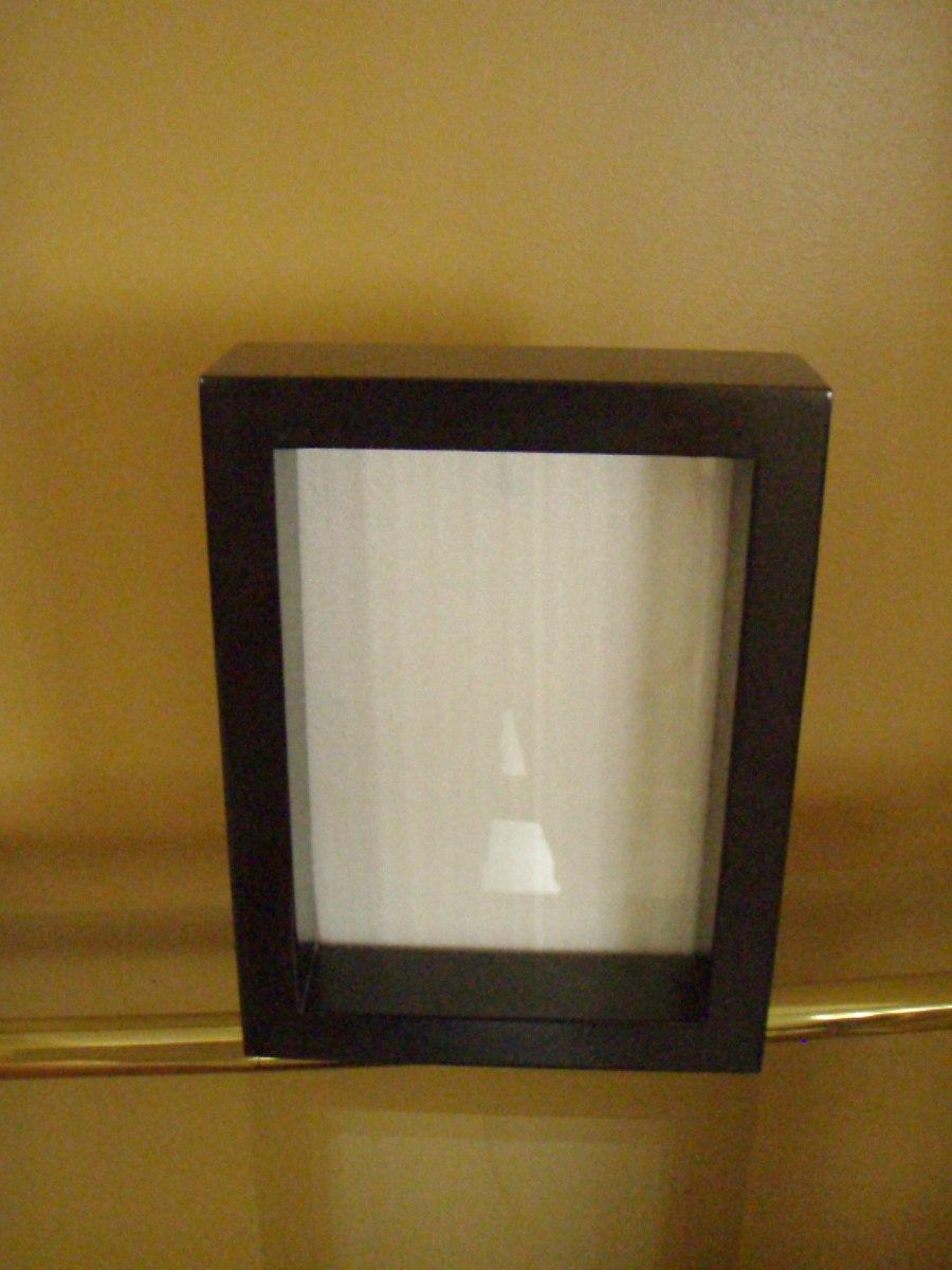 Portarretrato Marco Profundo Negro Laqueado Para Foto 10x15 - $ 120 ...