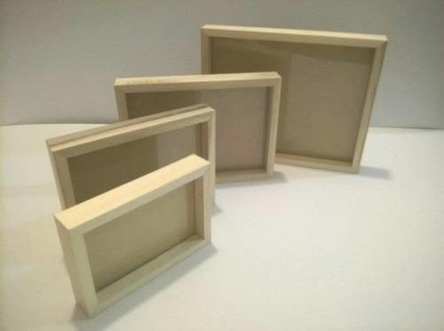 portarretratos box 13x18cm blancos a tan sólo $ 70,00 pesos