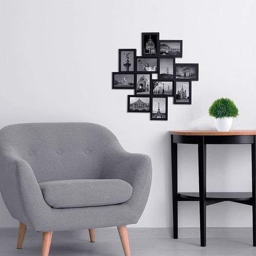 portarretratos para pared 12 fotos marca womex con envio