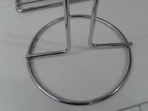 portarrollo de metal acero inoxidable accesorio cocina