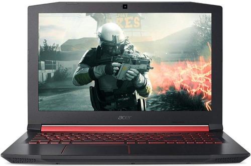 portátil acer gamer nitro5 core i5, 16 ram, 4 video, 512 ssd