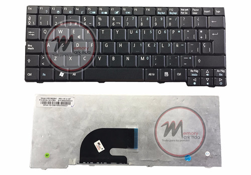 portatil acer teclado