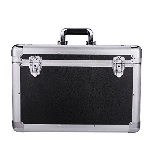 Portátil aluminio duro herramienta caja grande capacidad jpg 500x500 Una caja  grande de aluminio 2152a3d5ff26