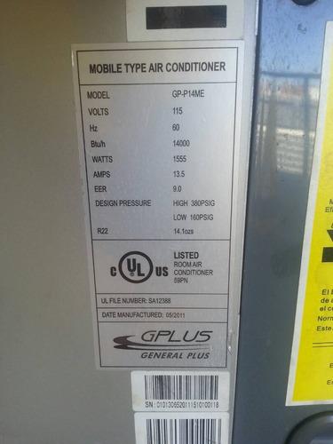 portatil btu aire acondicionado