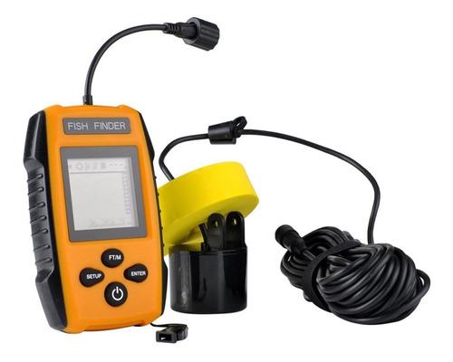 portatil conexion cable buscador pescado sensor sonar