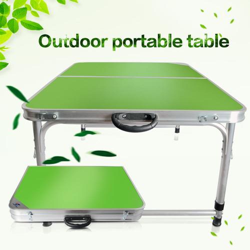 portátil de aluminio plegable mesa sillas conjunto jardín me