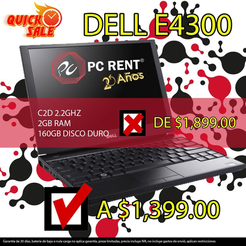 portatil e4300