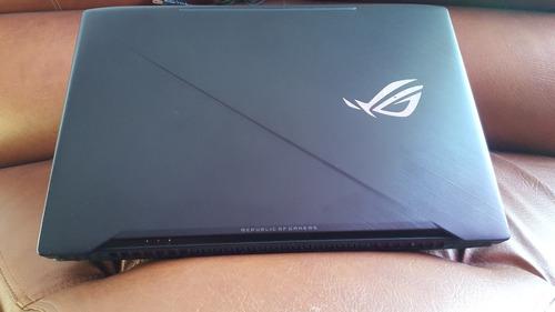 portatil gamer asus rog strix i7 7700hq 8gb ram gtx 1050 17p