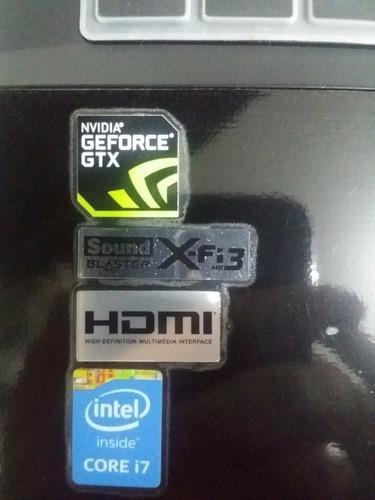 portatil gamer hasee, gtx 980m 4 gigas ddr5, ssd, 12 ram