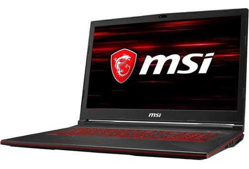 portatil gamer msi i7-9750h 16gb 1tb + 256gb gtx 1660ti