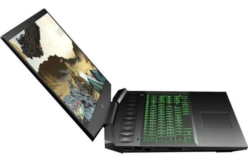 portátil hp gamer 15 intel corei5 16ram 1tera video nvidia