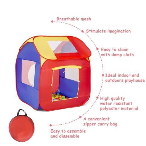 portátil kid bebé juego casa interior al aire libre juguete