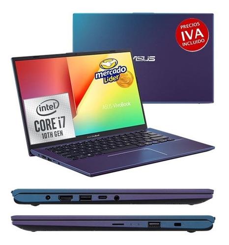portatil laptop asus core i7 10ma 1000gb/ 8gb/14´´
