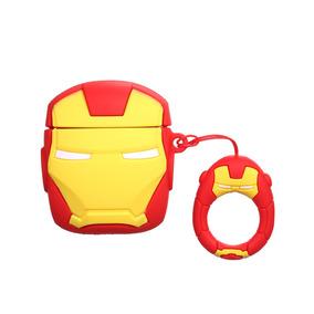 Portátil Lindo De Dibujos Animados 3d Iron Man Clamshell Tip