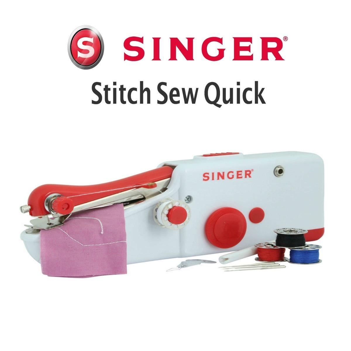 Portátil Maquina De Coser Singer Stitch Sew Quick - $ 599.00 en ...