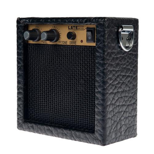 portátil mini 3w guitarra ukulele práctica amplificador a