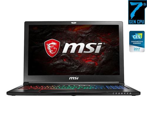 portátil msi gamer gs63vr 7rf i7 7ma 1tb ssd 128gb 16gb 15,6