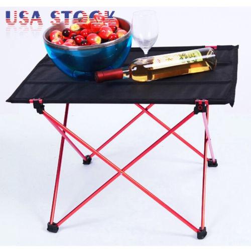 portátil plegable aluminio mesa escritorio silla taburete