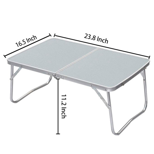portátil plegable mesa lapdesk desayuno cama servir ba...