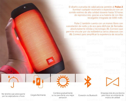 portatil recargable bocina jbl