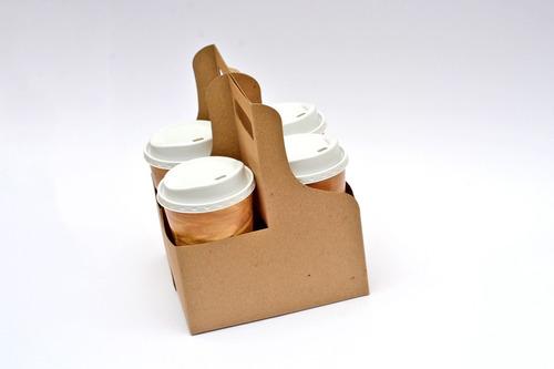 portavasos cafe bebidas 2 cavidades convertible a 4 carton