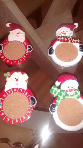 portavasos navideños
