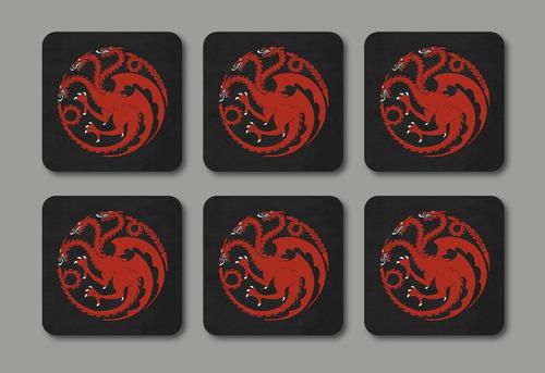 portavasos personalizables juego de tronos 10 unidades