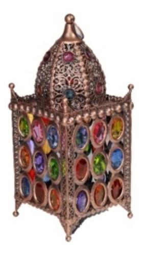 portavelas candelabro con cuentas color decoracion bm home