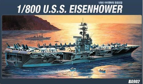 portaviones cvn-69 uss eisenhower- 1/800