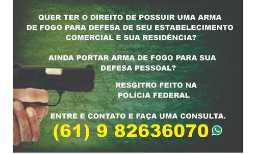 porte de arma de fogo