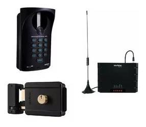 porteiro coletivo interfone sem fio gsm intelbras instalação