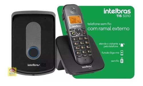 porteiro eletrônico interfone sem fio intelbras tis 5010 nfe