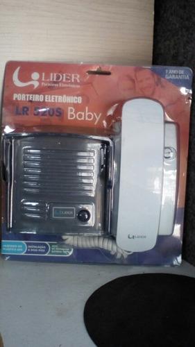 porteiro eletrônico líder lr 520s baby kit