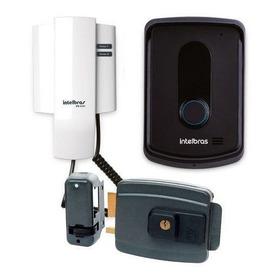 Porteiro Eletrônico Interfone Ipr 8010 Intelbras + Fechadura