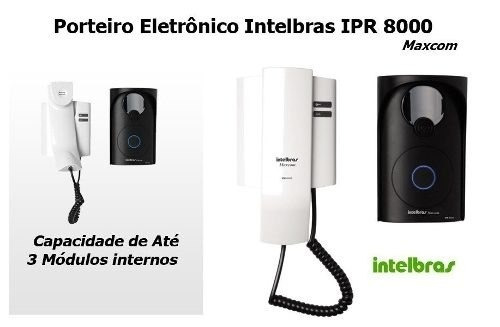 porteiro interfone residencial ipr8000 intelbras-icon
