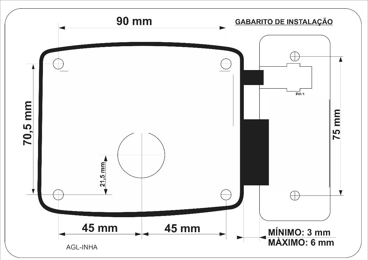 Porteiro P200 2 Interfones Fechadura 40 Metros De Cabo R Wiring Diagram Carregando Zoom