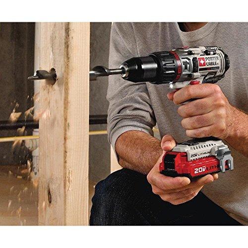 porter-cable pcc620lb 20v max kit de perforación de martillo