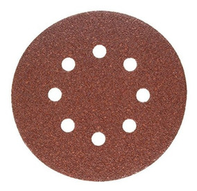 25-Pack PORTER-CABLE 735802225 5-Inch 8-Hole Hook and Loop 220 Grit Sanding Discs
