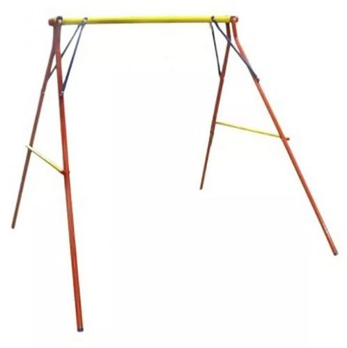portico 2 cuerpos para hamacas caño reforzado juegosol