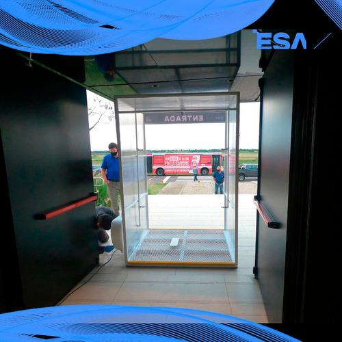 portico industrial sanitizante
