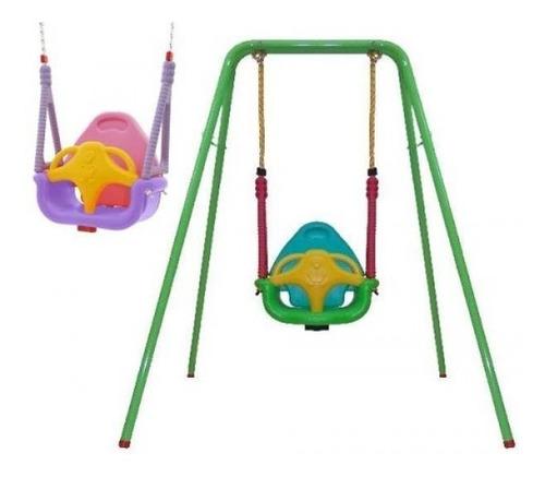 portico loriel con hamaca de bebe plegable