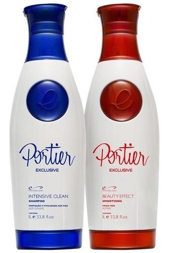 portier exclusive kit - 1000ml (2 produtos)