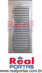 portinhola de pedestre 65x170cm com fechadura