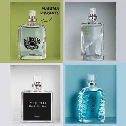 portiolli black+ r. faro+ ls & you+ lucas lucco 25ml jequiti