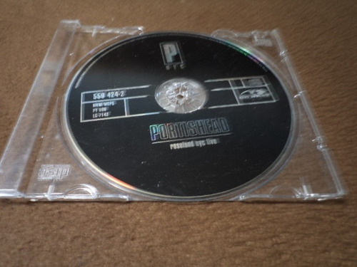 portishead - cd album - roseland nyc (live) dmm