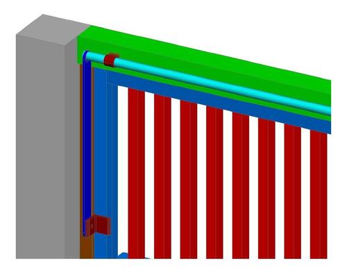 portão basculante - portões - projeto