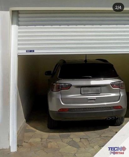 portão de enrolar automático