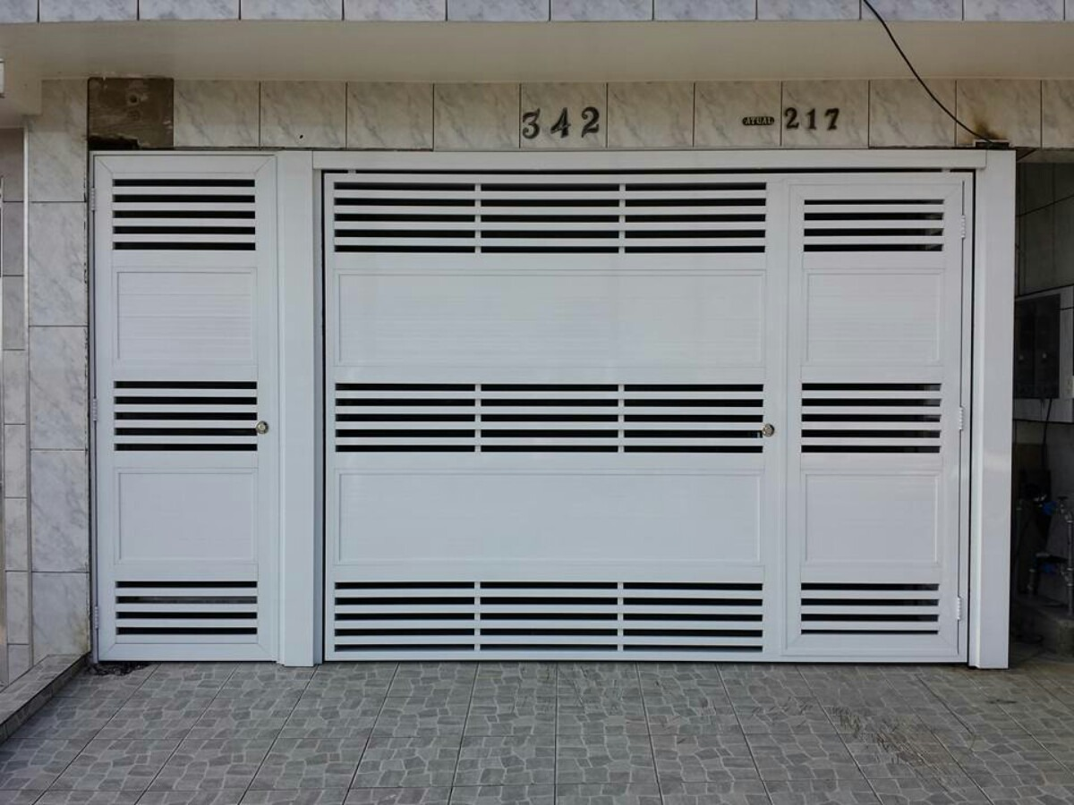 Port 227 O De Garagem Em Alum 237 Nio 220x250 R 7 788 00 Em
